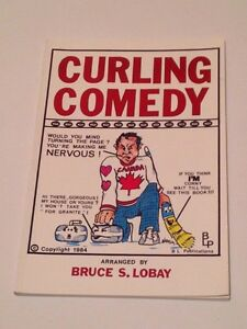Curling comedy book 96 pages
