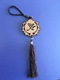 Car mirror hanging Islamic ornament, brand new at only £5, can be used as a nice gift