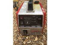Hond ex500 suitcase generator
