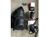 Canon 450D with 2 lenses plus accessories.