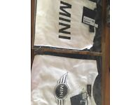2 BMW MINI t-shirts. Brand new, in packaging.