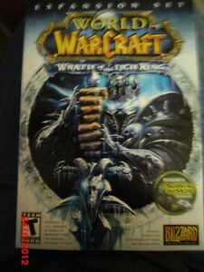 World of WarCraft Wrath of the Lich King (expansion set) New