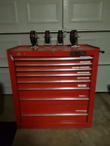 8 Drawer Tool Chest with wheels -  Great Christmas gift!