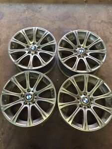 4 original BMW alloy 18 inch rims Kitchener / Waterloo Kitchener Area image 1