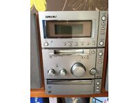 Sony hi-fi music system- with mini disc player