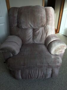 Pallister rocking chair recliner in great shape