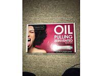 Cocowhite oil pulling teeth whitening x9