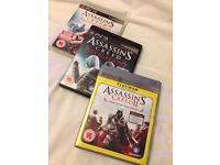 Assassins creed set box PS3 games