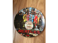 Sgt Pepper Lonely Club Hearts Band collector plate