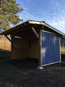 Horse/livestock shelters