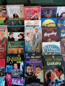Lot de Cassettes Films Classiques VHS