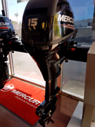 Mercury 15 HP 4 Four Stroke outboard motor for boat fishing Capalaba Brisbane South East Preview