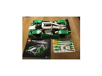 Lego technic 42039 24 hour race car with Lego functions motor 8293 for lights