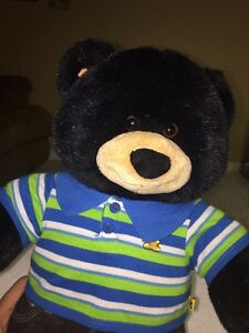 Build-A-Bear Workshop Black Teddybear with Clothes London Ontario image 2