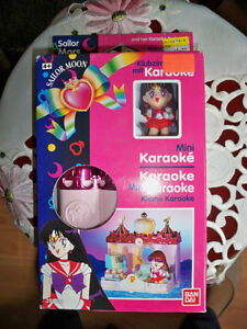 "Sailor Mars ""Rae"" Mini Karaoke -- Bandai, 1993"