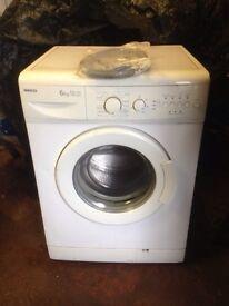 Washer washing machine beko 6kg aa class 1500rpm