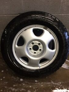 Winter tires and Rims package Peterborough Peterborough Area image 1