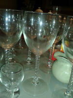 MOVING SALE ,WINE GLASSES, LARGE MIRROR, PLATES,TV,DISHES,