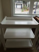Sears-White Solid wood Change Table