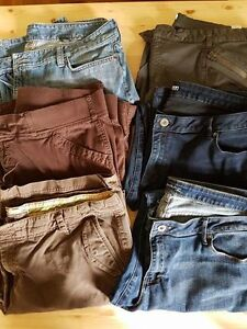 6 pairs of pants (5-size 18/1 size 16w)