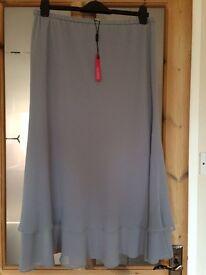 Chiffon Skirt by Jacques Vert size 16 Brand New