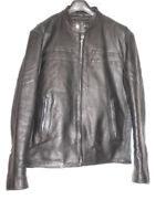 Men's Leather Jacket with removable liner