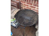 57cm Kettle round BBQ charcoal barbecue