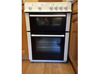 Freestanding Logik electric cooker - double oven