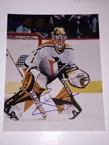 Johan Hedberg Autographed Pittsburgh Penguins 8x10