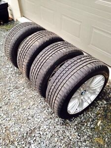 225 50 R 17 winter tires and BMW alloy rimes