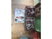 Battery drills/screwdrivers