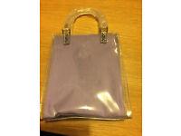 Lilac Giorgio Beverly Hills bag