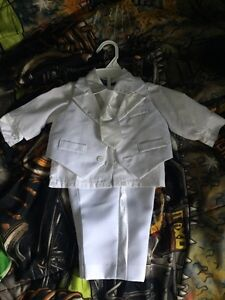 Boys 6-9 months Baptism/Christening suit