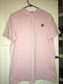 Lyle and Scott polo shirt.