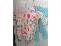 BNWT Next sleepsuits, size 0-3 months