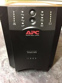 APC Smart - UPS 1000 SUA1000i Back up