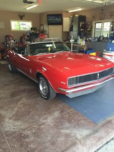 1967 RS Camaro Convertible 327 4spd, Number Matching