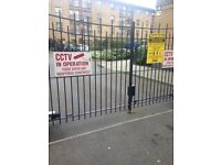 Secure Parking in Courtyard with fob access & CCTV