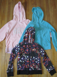 Girls hoodies (size 6/7)