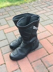 Rat motorcycle boots