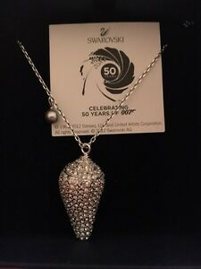Swarovski Collection James Bond 007 Shell Necklace