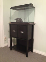 brand new 20 gal fish tank with stand