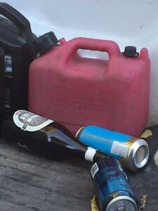 Gas fuel can
