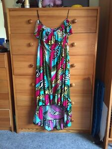 Strapless colourful summer dress size medium  West Island Greater Montréal image 1