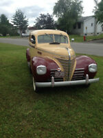 PLYMOUTH SEDAN ** 1939 ** ORIGINAL