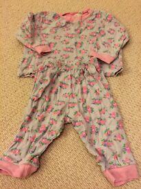 Jo jo Maman Bebe pj's 12-18 months