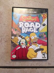 Simpsons road rage game cube Strathcona County Edmonton Area image 1
