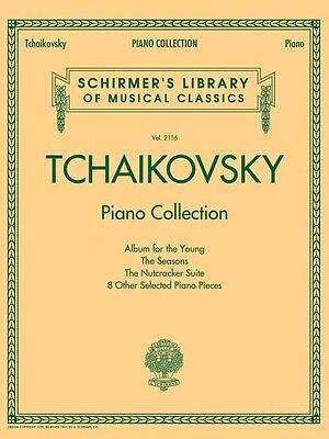 Tchaikovsky Piano Collection Sheet Music Schirmer's Library of Musical 050499877