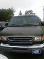 2002 FORD E350 VAN-New 2 Year MVI-Works Good!
