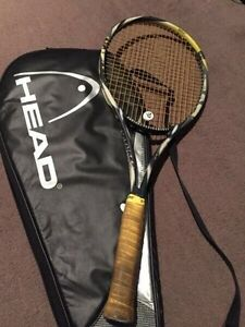 Head Radical tour tennis racquet with case twin tube graphite tennis Melbourne CBD Melbourne City Preview